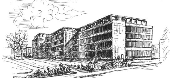 Textiltechnische Institut in Wuppertal